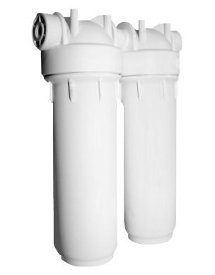 Double filtre sous évier purificateur d'eau