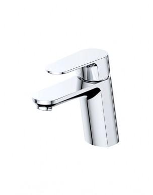 Mitigeur lavabo incliné chromé brillant NAPLES