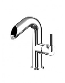 Mitigeur lavabo bec cascade chromé INKY C002-Cr AWA