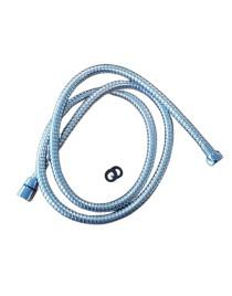 Flexible de douche acier inox chromé - 1,50 m