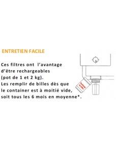 Recharge pour filtre à condensat